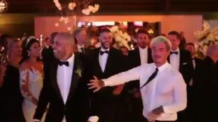 ¡J Balvin se mandó esta locura en el matrimonio de Nicky Jam! [VIDEO]