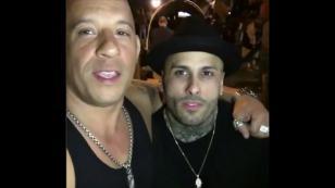 ¡Nicky Jam y Vin Diesel se volvieron a juntar y mandaron este mensaje!