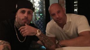 ¡Nicky Jam y Vin Diesel nuevamente juntos! [VIDEO]