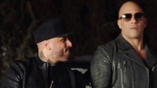 ¿Nicky Jam prepara canción junto a Vin Diesel?
