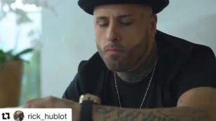 Nicky Jam y su comercial para una exclusiva marca de relojes [VIDEO]
