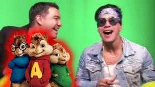 No te pierdas a Chyno Miranda cantando con 'voz de ardilla' [VIDEO]
