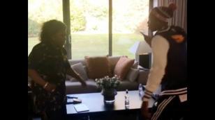 Conocido jugador de fútbol compartió el divertido saludo que tiene con su madre [VIDEO]