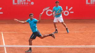 Peruanos siguen avanzando en el Lima Challenger Copa Claro [FOTOS]