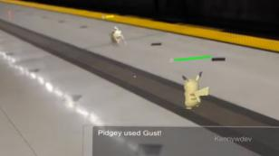 'Pokemon GO' se ve increíble con 'hologramas' [VIDEO]