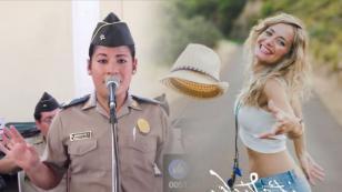'Qué bonito', interpretado por una policía peruana, está dando la hora en Facebook [VIDEO]