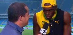¡Usain Bolt cantó 'One love' de Bob Marley!