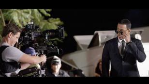 ¡Checa el detrás de cámaras del video de 'Héroe favorito' de Romeo Santos!