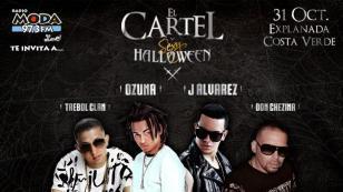 ¡Ozuna, J Álvarez, 'Trebol Clan' y 'Don Chezina' te harán bailar en el Sexy Halloween!