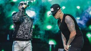 Wisin & Yandel se reencontraron en concierto de Maluma [FOTOS Y VIDEO]