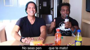 ¡Luchador de la WWE probó dulces peruanos y así reaccionó!