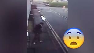 ¡Mira la divertida reacción de este hombre tras conseguir trabajo! [VIDEO]