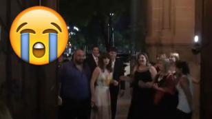 Fue invitada a la boda de un amigo, sin embargo, se llevó esta sorpresa [VIDEO]