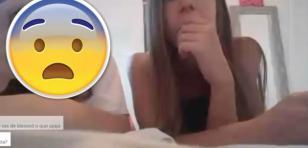 ¡Encontró a su hija haciendo un video en vivo y así reaccionó!