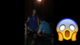 ¡Le armó tremendo escándalo a su pareja en una sala de cine! ¿El motivo?