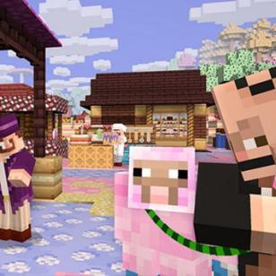 Ahora, en 'Minecraft' todo se vuelve caramelo
