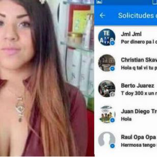¡Ofreció servicios sexuales para poder estudiar y luego reveló las identidades de quienes la contactaron!