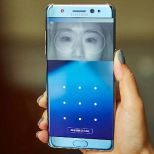 El nuevo Galaxy Note 7 llevará un escáner de iris