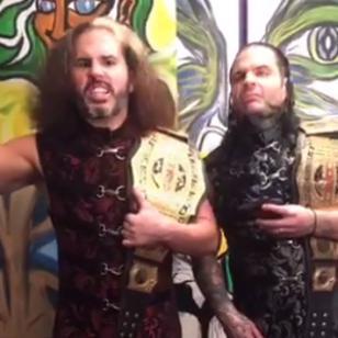 ¿Jeff Hardy y Matt Hardy vuelven a WWE? Enviaron este mensaje [VIDEO]