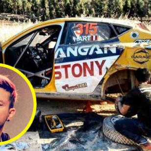 Mario Hart y su accidente de auto en rally de Huancayo [FOTOS Y VIDEO]