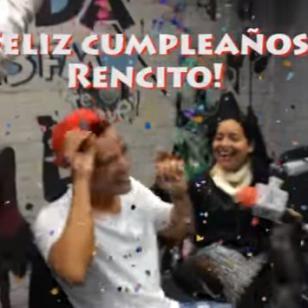 ¡Así celebramos el cumpleaños de Renzo Winder! [VIDEO]