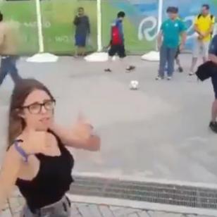 ¡Esta reportera argentina pasó el roche de su vida en Río 2016!