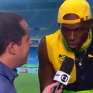 ¡Usain Bolt cantó 'One love' de Bob Marley!
