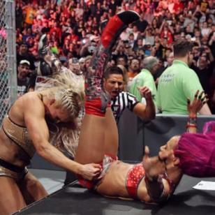 Un detalle en el cuerpo de Sasha Banks quedó en evidencia durante Hell in a Cell y sus fans se decepcionaron