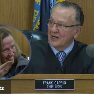 ¡Este juez no aguantó la risa cuando le presentaron tan divertido caso! [VIDEO]