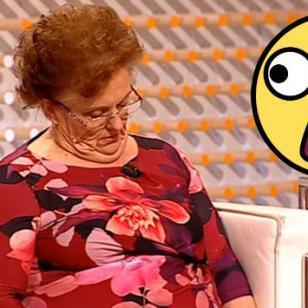 ¡Por quedarse dormida en pleno programa en vivo, le jugaron esta broma! [VIDEO]