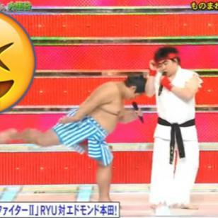 Vacílate con esta parodia de Street Fighter que enfrentó a Honda y Ryu [VIDEO]