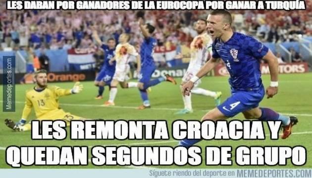 ¡Trolean a España con memes tras derrota en la Eurocopa!