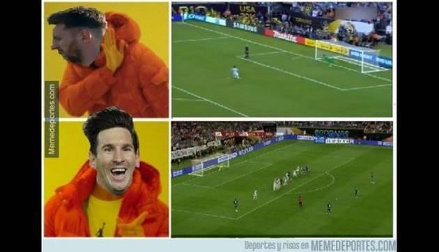 ¡Argentina no se salvó de los memes tras volver a perder una final!