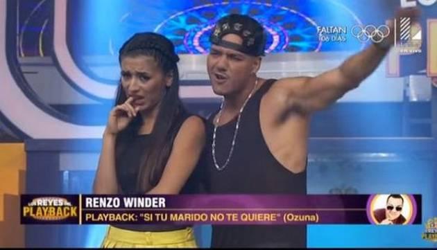 ¡Renzo Winder se convirtió en 'Ozuna' en 'Los Reyes del Playback!