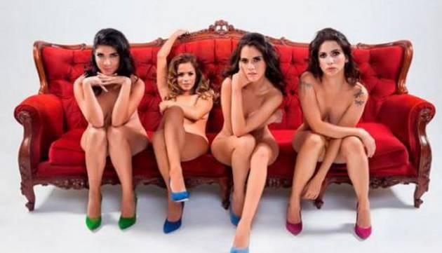 ¡Actrices de 'Al fondo hay sitio' se desnudaron para SoHo!