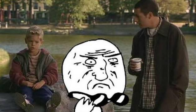 ¡Asuuuuu! Mira cómo luce el niño de 'Un papá genial', película con Adam Sandler