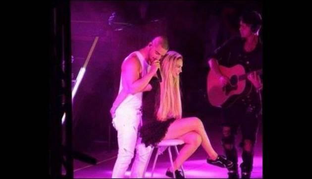 ¡Maluma besó a presentadora de TV y esta lo 'vendió' contando lo que hicieron después!