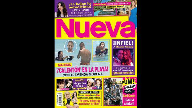 ¡Maluma fue ampayado en Cancún con esta espectacular morena!