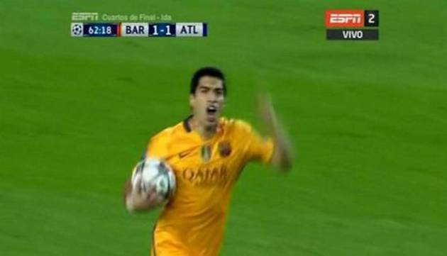¡Grande, 'pistolero'! Suárez le dio victoria al Barcelona por la Champions