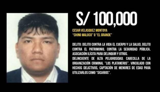 La lista de los delincuentes más buscados del Perú y sus millonarias recompensas