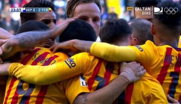 ¿Quién dijo que estaban muertos? ¡Suárez mordió 4 veces en goleada del Barcelona!