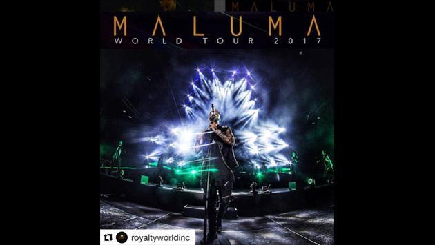 ¿A qué países irá Maluma con su tour de 2017?