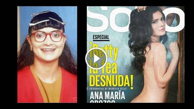 'Betty, la fea' se desnudó para la revista Soho