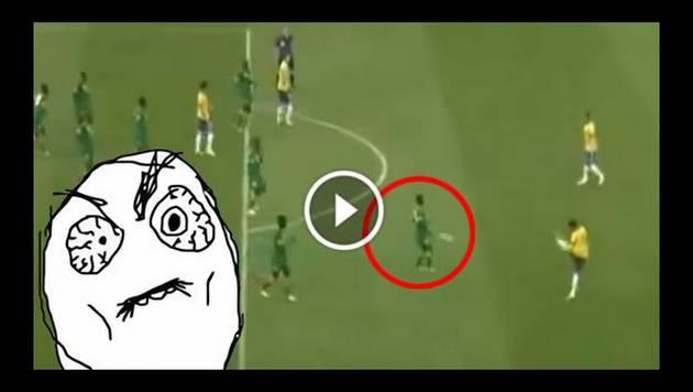 La vez en que Neymar le dio un pelotazo en los testículos a rival