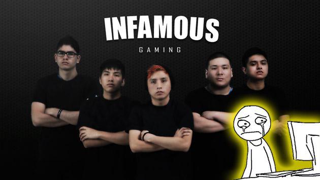 Acabaron las esperanzas en el equipo peruano de 'Dota 2' Infamous Gaming de la peor forma