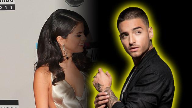 ¿Adivinas quién estaría celoso por el acercamiento de Maluma y Selena Gomez?