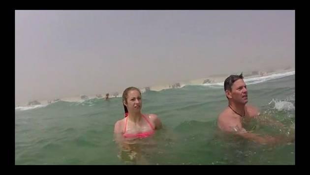 YouTube: palo de selfie la salva de morir ahogada
