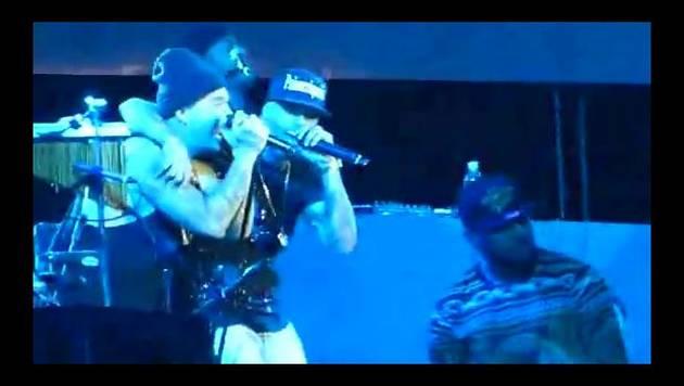 All Music Fest: Nicky Jam y J Balvin cantan juntos