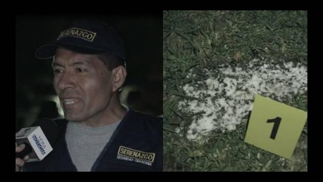 Huellas gigantes aparecen en parque limeño