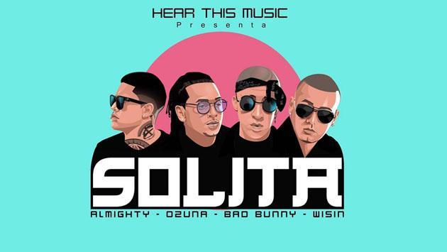 Bad Bunny anuncia fecha de lanzamiento para 'Solita' junto a Ozuna, Wisin y Almighty